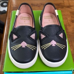 keds kate spade cat slip on sneaker double decker